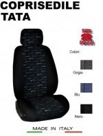 Coprisedili Anteriore in Cotone per Auto TATA con AIRbag mod. PERFORMANCE 2Pz.