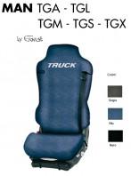 Coprisedile Singolo in Cotone per Camion MAN TGA TGL TGM TGS TGX