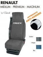 Coprisedile in Microfibra Traspirante AntiSudore AIRTECH per Camion Renault MIDLUM, PREMIUM, MAGNUM