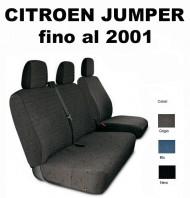 Coprisedili Furgone 3 Posti Citroen JUMPER fino al 2001