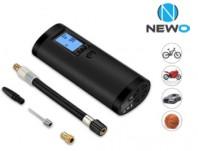 Compressore Digitale Portatile Bici Moto Auto Ricaricabile USB con Torcia