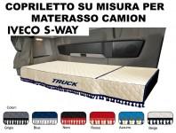 Copriletto su Misura per Materasso Cabina Camion IVECO S-WAY