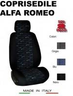 Coprisedili Anteriore in Cotone per Auto ALFA ROMEO con AIRbag PERFORMANCE 2Pz.