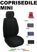 Coprisedili Anteriore Tessuto Imbottito per Auto MINI con AIRbag TREND 2Pz.