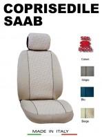 Coprisedili Anteriore in Cotone per Auto SAAB con AIRbag mod. GRIFFE 2Pz.
