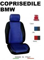 Coprisedili Anteriore Sedile Sportivo in Tessuto Traforato per Auto BMW con AIRbag CHRONO 2Pz.
