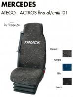 Coprisedile in Tessuto Super Resistente per Camion Mercedes ATEGO ACTROS fino al 2001