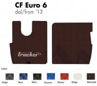Tappeti su Misura Trucker in Ecopelle per Camion DAF CF Euro 6 dal 2013 in poi