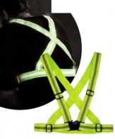 Bretella Elastica Riflettente 3M Color Giallo