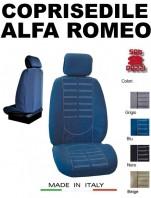 Coprisedili Anteriore in Microfibra Protezione Completa per Auto ALFA ROMEO con AIRbag mod. TECHNO 2Pz.