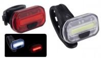 Fanali Bici a LED Anteriore e Posteriore a Batteria Alta Luminosità