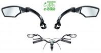 Specchio Bici e-bike Orientabile Destro + Sinistro