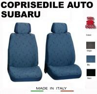 Fodere Coprisedile Anteriori in Cotone per Auto SUBARU 2Pz.