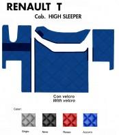 Tappeti PVC a Rombi su Misura per Camion Renault Modello T Cabina High Sleeper