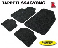Tappeti in Moquette 4 Pz. EXCLUSIVE per Auto SSANGYONG