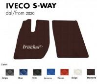 Tappeti su Misura Trucker in Ecopelle per Camion per IVECO S-WAY