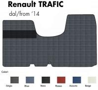Tappeto Furgone su Misura Renault TRAFIC dal 2014 in poi