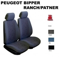 Coprisedili Auto Furgonate Peugeot Bipper, Ranch/Patner dal 2007 in poi 2 Pz.