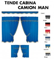 Tende Cabina in Microfibra per Camion MAN TGS TGM TGL TGA TGX