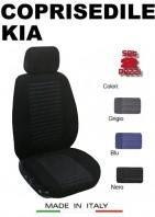 Coprisedili Anteriore Tessuto Imbottito per Auto KIA con AIRbag TREND 2Pz.