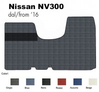 Tappeto Furgone su Misura Nuovo Nissan NV300 dal 2016 in poi