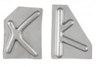 Rinforzi X Y per Lamierato Piaggio Vespa ET3 50 Special