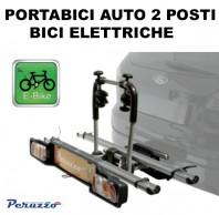 Portabici e-Bike Auto Posteriore Fissaggio al Gancio di Traino 2 Posti