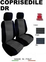 Coprisedili Anteriore per Auto DR con o senza AIRbag JOLLY 2Pz.