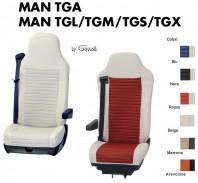 Coprisedile Singolo BEST in Ecopelle per Camion MAN TGA TGL TGM TGS TGX
