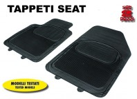 Tappeti Anteriori in Gomma COMFORT per Auto SEAT