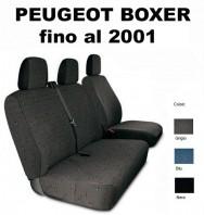 Coprisedili Furgone 3 Posti Peugeot BOXER fino al 2001