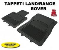 Tappeti Anteriori in Gomma COMFORT per Auto LAND/RANGE ROVER