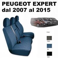 Coprisedili Furgone 3 Posti Peugeot EXPERT dal 2007 in poi