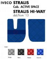 Tappeti PVC a Rombi su Misura per Camion IVECO STRALIS Cabina Active Space e Hi-Way
