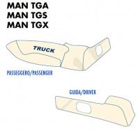 Coprisupporti Sedile (guida+passeggero) per Camion MAN TGA, TGS, TGX