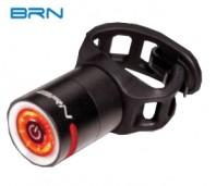 Fanale Bici Posteriore a Batteria Ricaricabile USB Alta Luminosità 5 Lumen