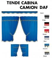 Tende Cabina in Microfibra per Camion DAF CF75, CF85, 95XF, XF95, XF105, XF Euro6