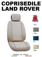 Coprisedili Anteriore in Cotone per Auto LAND RANGE ROVER con AIRbag mod. GRIFFE 2Pz.