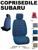 Coprisedili Anteriore in Microfibra Protezione Completa per Auto SUBARU con AIRbag mod. TECHNO 2Pz.