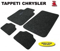Tappeti in Moquette 4 Pz. EXCLUSIVE per Auto CHRYSLER