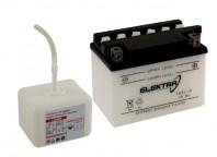 Batteria YB9-B Piaggio Vespa PX PXE VSX1T VNX2T VLX1T