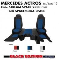 Kit Cabina 2 Coprisedili + Tappeti + Copricofano su Misura per Camion MERCEDES Actros dal 2012 in poi