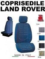 Coprisedili Anteriore in Microfibra Protezione Completa per Auto LAND ROVER con AIRbag mod. TECHNO 2Pz.
