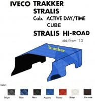 Copricofano Copertura Cofano Trucker Ecopelle su Misura per Camion IVECO TRAKKER STRALIS HI-ROAD