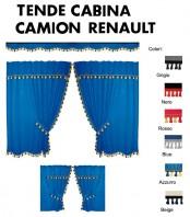 Tende Cabina in Microfibra per Camion RENAULT MIDLUM PREMIUM MAGNUM RENAULT T K C D
