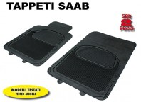Tappeti Anteriori in Gomma COMFORT per Auto SAAB