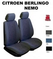 Coprisedili Auto Furgonate Citroen Nemo, Berlingo fino al 2008 2 Pz.