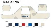 Copricruscotto Copertura Cruscotto su misura per Camion DAF XF 95