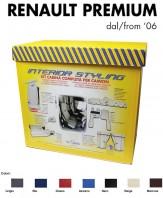 Kit Interno Cabina Completo su Misura per Camion Renault PREMIUM dal 2006 in poi