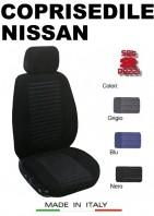 Coprisedili Anteriore Tessuto Imbottito per Auto NISSAN con AIRbag TREND 2Pz.